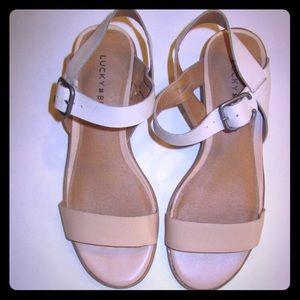 Lucky Brand 🍀 Toni Dress Sandals 👡